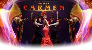 "Tarptautinis projektas - miuziklas ""Baltican Carmen Show"""