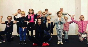 """Nemokamos """"Judėk sveikai"""" zumba kids treniruotės"""