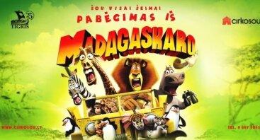 """Šou šeimai """"Pabėgimas iš Madagaskaro"""""""