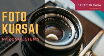 Fotografijos kursai pažengusiems