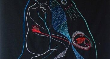 Audronės Petrašiūnaitės siuvinėtų kilimų ir grafikos paroda
