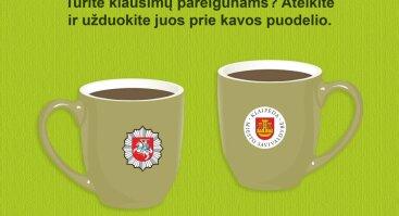 Kava su policininku
