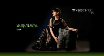 Marija Vlasova, akordeonas   Rusija