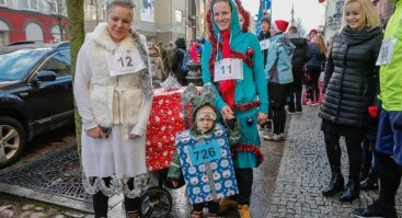 """Labdaringas kalėdinis bėgimas """"Padovanok senjorams Kalėdas"""""""