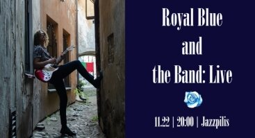 Royal Blue and the Band   Baras Jazzpilis