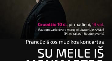 SU MEILE IŠ MONMARTRO/ pianistas Šarūnas Meškys 6-ASIS FESTIVALIS MUZIKINĖS KALĖDOS