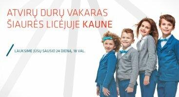 Atvirų durų vakaras Šiaurės licėjuje Kaune