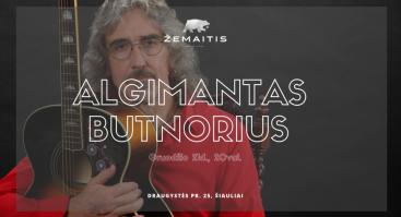 Algimantas Butnorius restorane Žemaitis