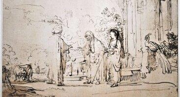 """Paroda """"Rembrandtas van Rijnas. Piešiniai"""""""