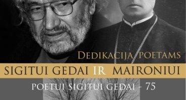 DEDIKACIJA SIGITUI GEDAI IR MAIRONIUI