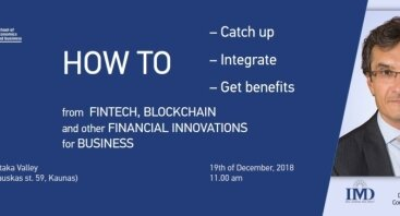 Fintech, blockchain, other financial opportunities for business