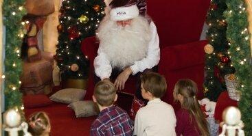 Kalėdų Senelio ir pilies elfų pramogos bei žaidimai