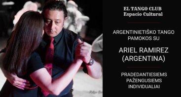 Argentinietiško tango pamoka su ARIEL RAMIREZ