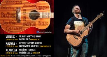 Tomi Paldanius - akustinės gitaros virtuozas