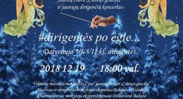 """Koncertas """"#dirigentės po egle"""""""