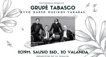 Grupė Tabasco restorane Žemaitis