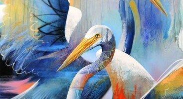 """Tapybos popietė skirta Meilės dienai """"Paukščiai"""