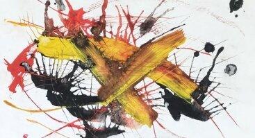 """Moksleivių dailės darbų """"Piešiu kaip Fernando Zobel"""" paroda"""