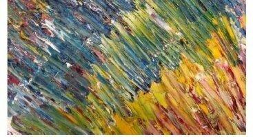 """Valentino Jankauskio tapybos paroda """"Menas – tai mano emocijos"""""""