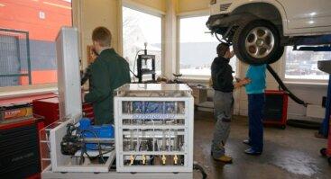 Automobilių dujinės įrangos aptarnavimo šaltkalvio mokymo programa