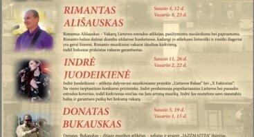 Gyvo garso koncertai Senojoje Hansoje