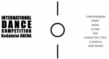 """Tarptautinis šokių konkursas """"SHoCK 2019"""""""