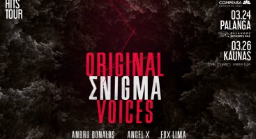 Original Enigma Voices. All best hits tour.
