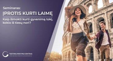 Įprotis kurti laimę (Kaunas)