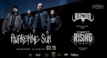 "Awakening Sun ""Bloodthirst"" EU Tours 2019"