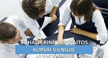BUHALTERINĖS APSKAITOS KURSAI VILNIUJE BUHALTERIO - APSKAITININKO PROFESINĖ KOMPETENCIJA