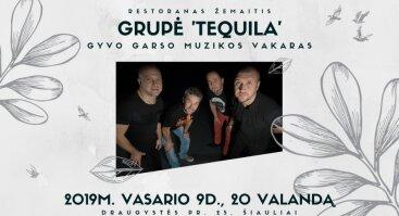 Muzikinis vakaras su grupe Tequila restorane Žemaitis