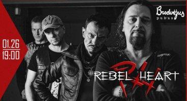 "Grupės ""Rebelheart"" koncertas + Afteris!"