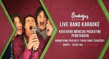 Live Band Karaoke + Afteris!