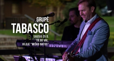 "Grupės ""Tabasco"" koncertas viloje ""Miško natos"""