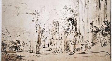 """Faksimilių paroda """"Rembrandtas van Rijnas. Piešiniai"""""""