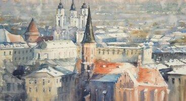 Dailininko Sergij Lysyy akvarelės darbų paroda