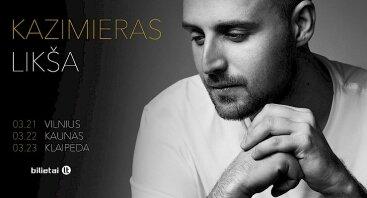 Kazimieras Likša: dviguba dovana - albumas ir koncertinis turas