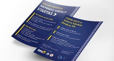 Verslumo projektas: Sėkmingo verslo startas II-asis etapas