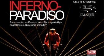 """Eimunto Nekrošiaus spektaklis """"Inferno - Paradiso"""""""