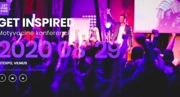 Get Inspired 2020 - Motyvacinė konferencija sėkmei