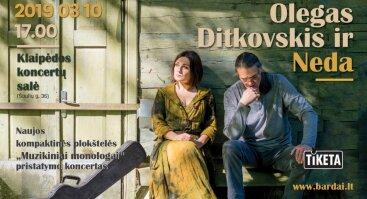 Olegas Ditkovskis ir Neda   Naujojo CD pristatymas