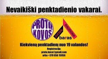 KVIEČIAME PRALEISTI PENKTADIENIUS JUODA RAUDONA BARE : PAPROTAUTI - SKANIAI PAVALGYTI - PAŠOKTI !