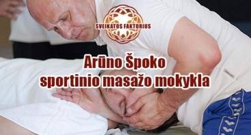 Sportinio miofascinio masažo mokymai su manualinėmis technikomis