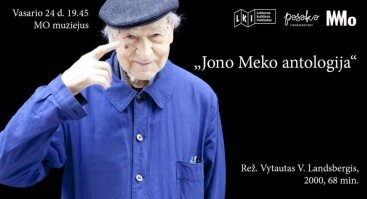 "Dokumentinio filmo ""Jono Meko antologija"" peržiūra"