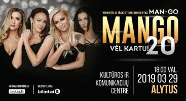 "Grupės  ""Mango""  jubiliejinis koncertas"