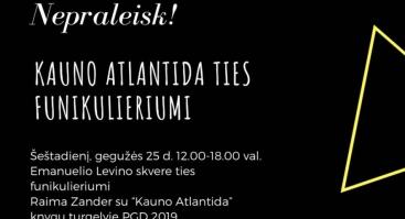 """Knygos """"Kauno Atlantida"""" pristatymas"""