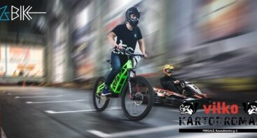 Z-bike test drive Vilko kartodrome