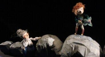"""Lėlių spektaklis """"Elniuko išpažintis"""""""