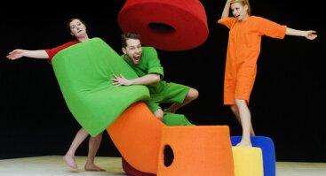 """""""Mozaika"""" šiuolaikinio šokio spektaklis 0–3 metų vaikams"""