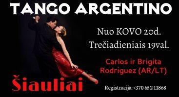 Tango Argentino Pamokos ŠIAULIUOSE